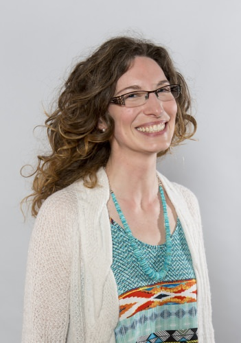 Gretchen Erdmann-Hermans returned to school to pursue a bachelor's degree in geology.