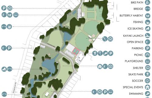 Winnequah Park design