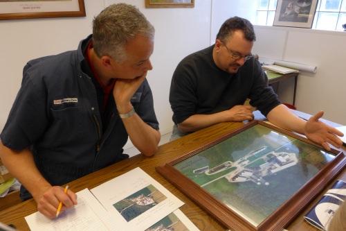 Photo: Nigel Cook and John Koepke