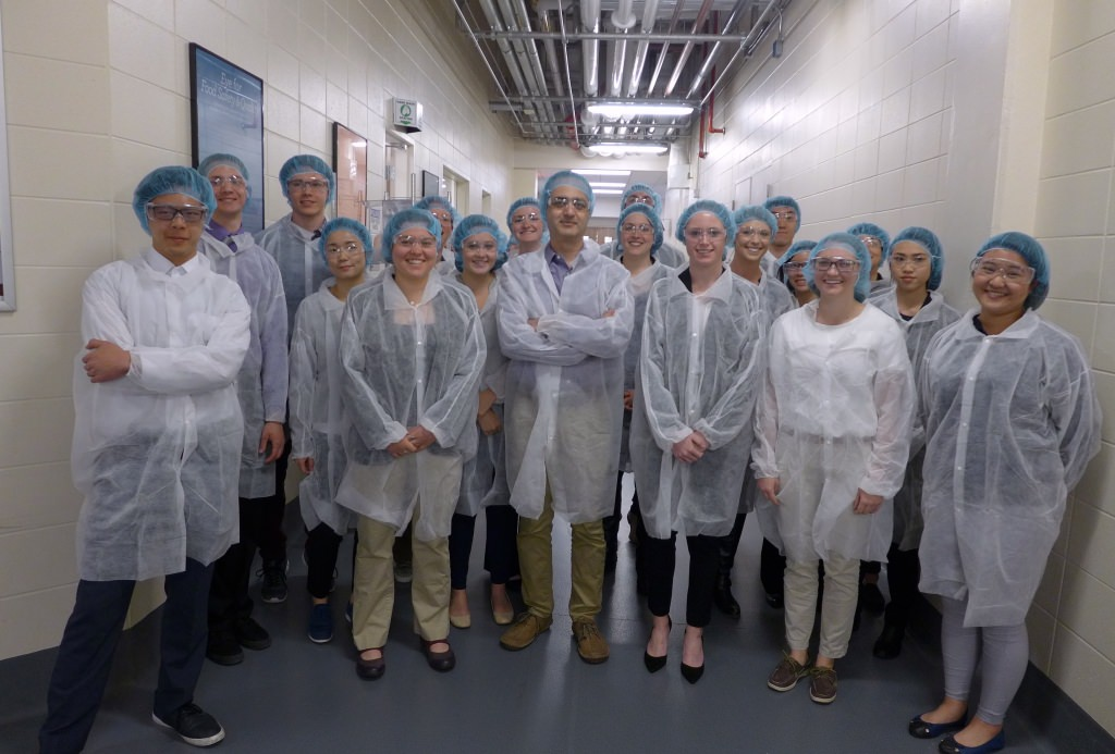 The UW–Madison undergrads who visited Kerry on April 28 toured the large research and development center in Beloit. How, they asked should they make their resumes stand out at Kerry?