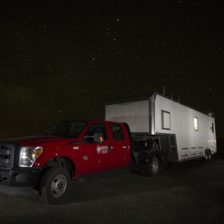 The SSEC Portable Atmospheric Research Center (SPARC) collected data along Lake Michigan in Sheboygan as part of a month-long air monitoring campaign.