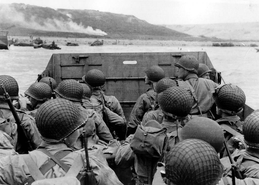 Photo: Landing at Normandy