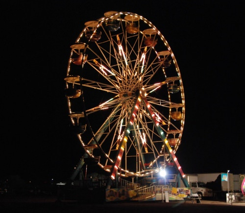While the festival will only run July 3-4, the carnival will be open July 1-4. Photo courtesy of Fred von Graf.