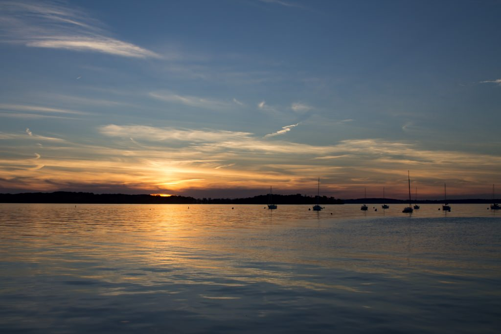 The candle lighting happened as the sun set over Lake Mendota. The purpose of the vigil was not only to remember Chen, but to