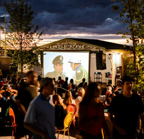 Cheap thrills free and inexpensive ways to fill out your for Movies at the terrace