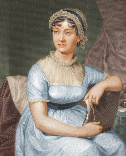 Illustration: Portrait of Jane Austen