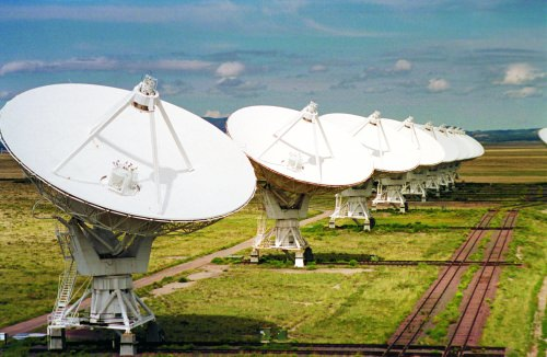 Photo: Very Large Array radio telescopes