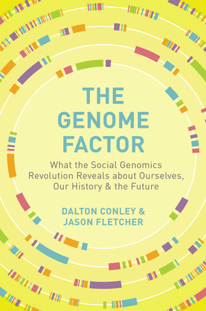 "Photo: Cover of book ""The Genome Factor"""