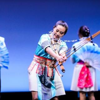 Members of the South East Asian Dance Organization (SEADO) perform.