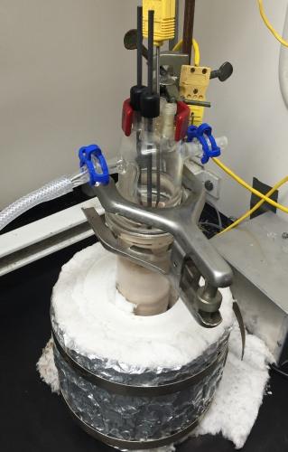 Photo: Reactor setup
