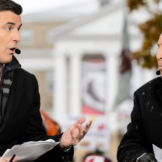 Commentators Rece Davis and Lee Corso share their game predictions.