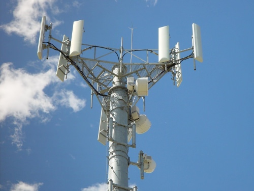 Photo: Cellular phone tower