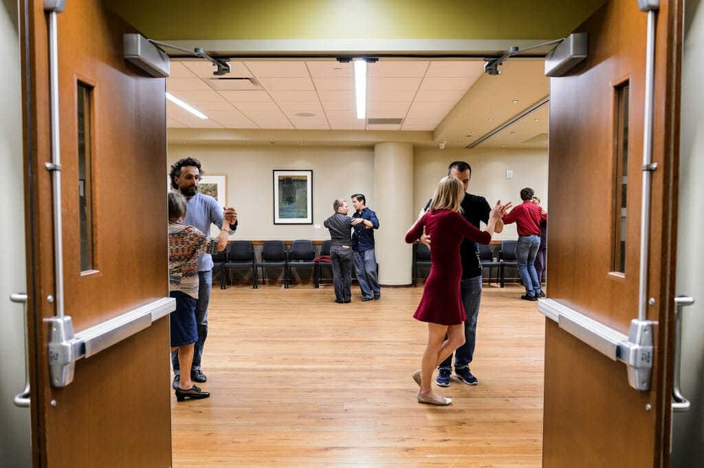 Photo: People dancing the tango
