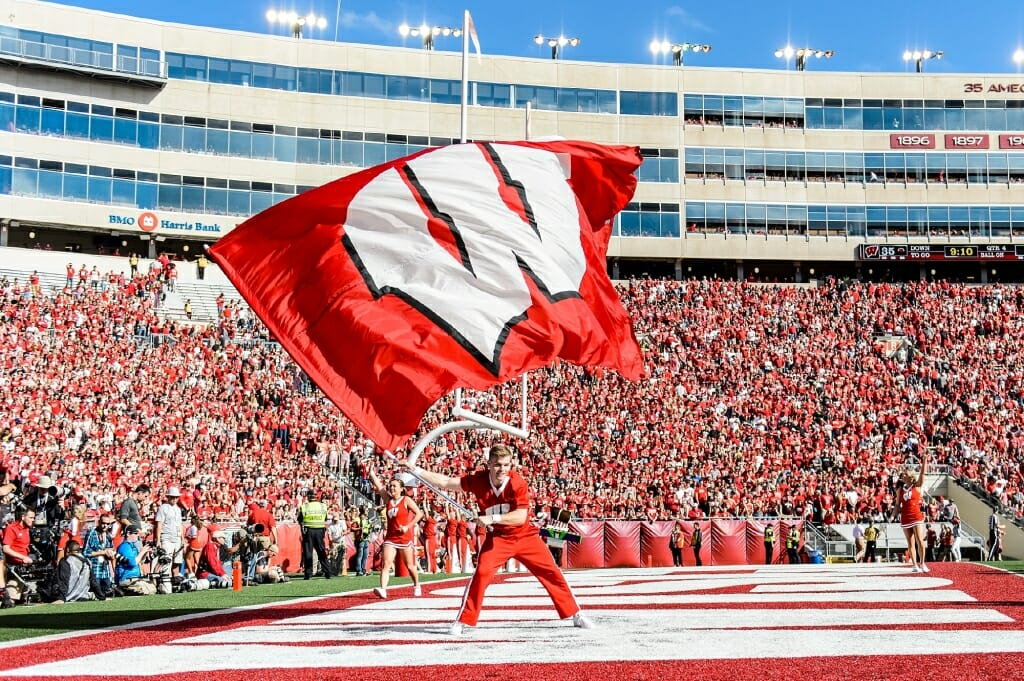 Camp Randall Season Plenty Of Singing Dancing Cheering And Wins