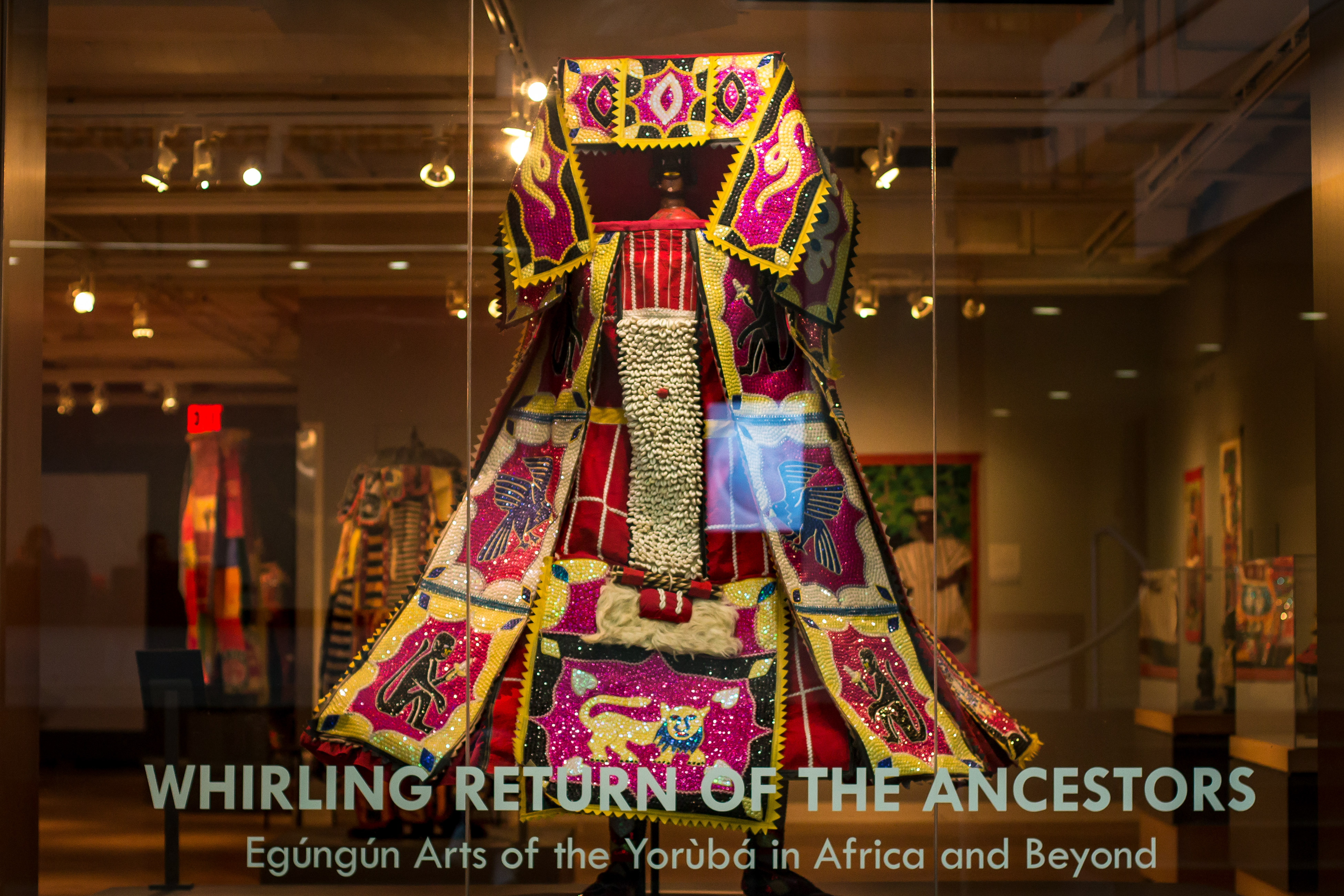 New exhibit pushes viewers to connect with an African tradition of