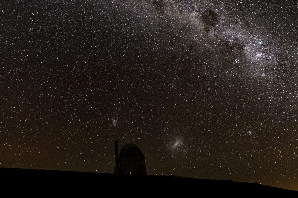 Photo: Magellanic Clouds
