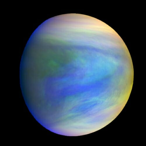 Photo: Composite image of venus