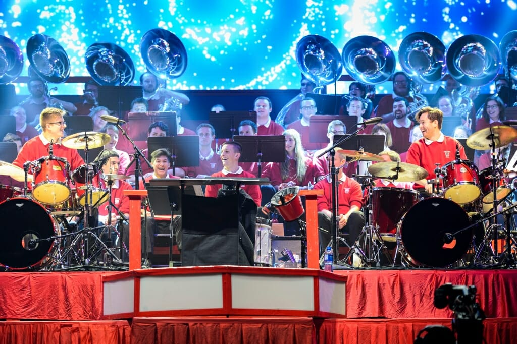 uw varsity band concert celebrates camp randall centennial