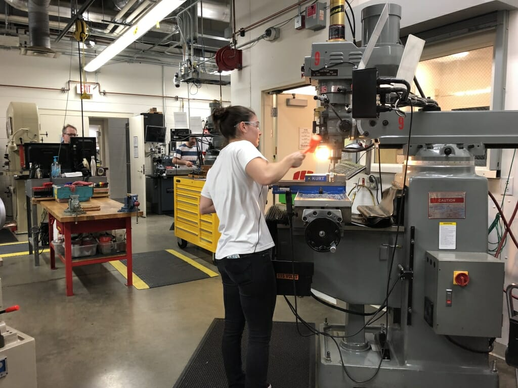 TEAM Lab provides hands-on learning experience in modern machine