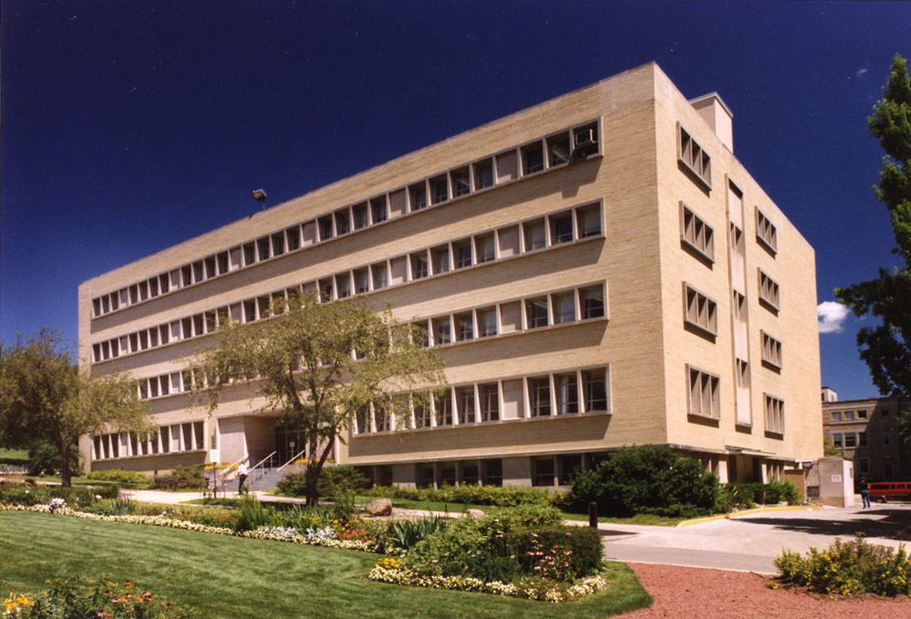 Photo: Exterior of the Wisconsin State Laboratory of Hygiene on Henry Mall on the UW–Madison campus