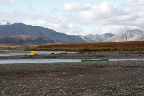 Arctic scenery at Noatak preserve.