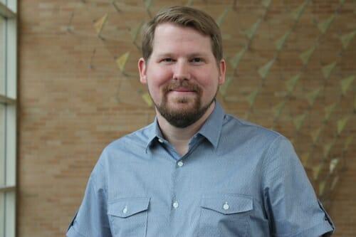 Photo of Jason Peters, pharmacy professor.