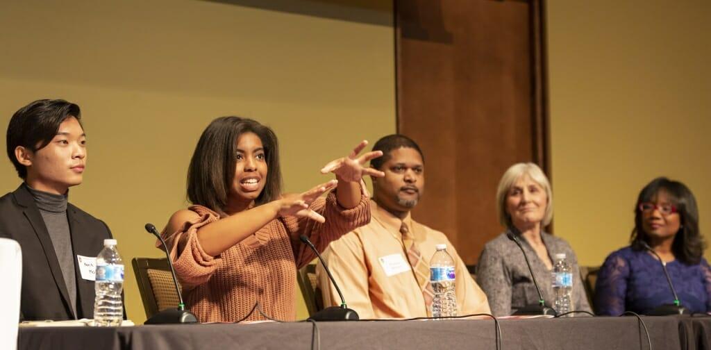 Photo of STEM panel members
