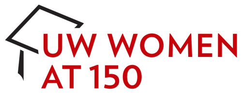 UW Women at 150 logo