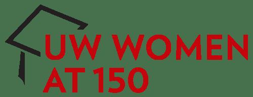 UW Women at 150 logo