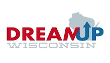 Logo for DreamUp Wisconsin