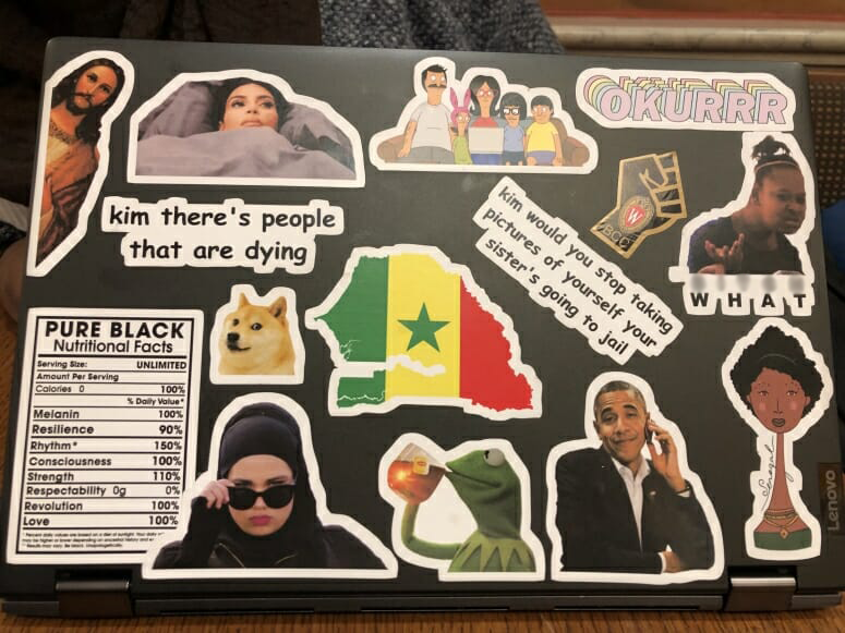 The Wonderful Funny And Strange World Of Laptop Stickers