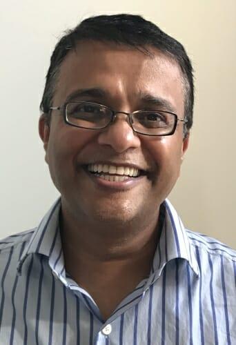Photo: Portrait of Patel