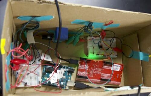 Photo: Prototype device