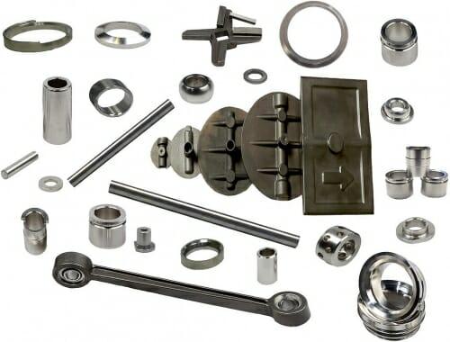 Photos: Various metal parts