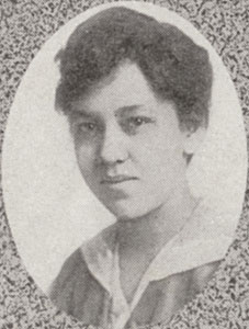 Photo: Mabel Watson Raimey portrait in university yearbook
