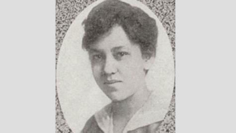 Photo: Mabel Raimey portrait in university yearbook