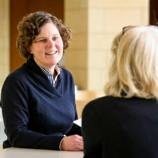 <strong>Chancellor's Award for Excellence in Leadership at the College, School or Community Level: Karen Mittelstadt</strong>