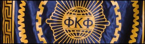 Photo: The logo of Phi Kappa Phi