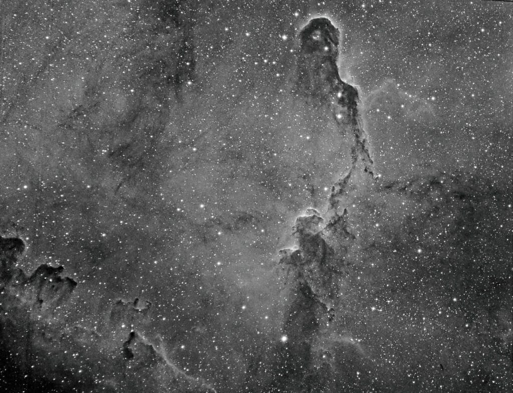 Photo: the Elephant's Trunk Nebula