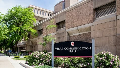 Photo: Exterior of Vilas Communication Hall