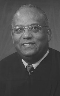 Photo: Portrait of Martin in judicial robe