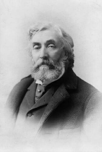 Photo: Portrait of Adams