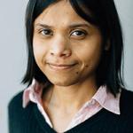 Photo: Portrait of Sushmita Roy