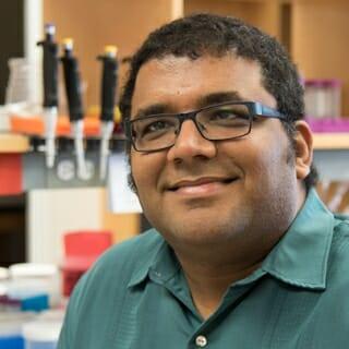 Assistant professor of biochemistry Vatsan Raman.