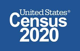 United States Census 2020 logo.