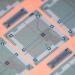 Closeup of a computer chip
