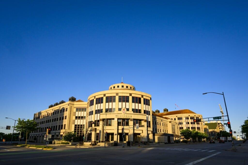 Grainger Hall, home of the Wisconsin School of Business.