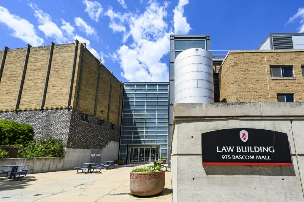 The Law Building, from the south side.