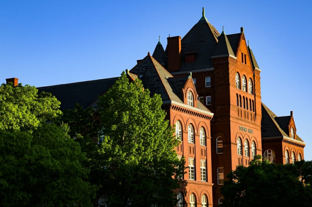 Science Hall, home to the Nelson Institute for Environmental Studies. (
