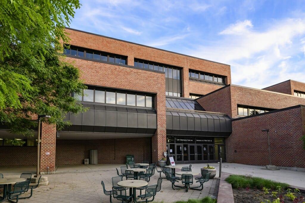 The Veterinary Medicine Building.